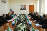 Azerbaijan`s Minister of Agriculture meets ICARDA Director General