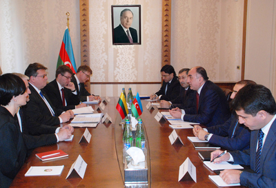FM Linkevicius: Azerbaijan is Lithuania`s main trade partner in South Caucasus
