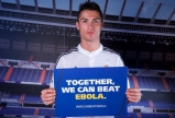 Football stars join fight to stop the spread of Ebola