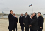 President Ilham Aliyev reviewed the preparatory work for the first European Games