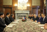 "Azerbaijani Parliament Speaker meets Speaker of Japanese House of Representatives   <span style=""color:#ff0000"">VIDEO</span>"
