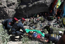 Road accident claims dozen lives in south Peru