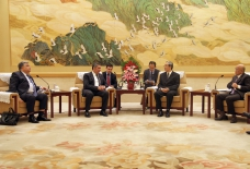 Azerbaijani parliamentary delegation visits China