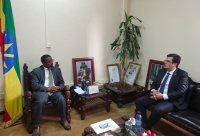 Azerbaijani Ambassador to Ethiopia meets country's Minister of Culture and Tourism