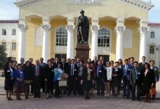 Representative of Baku State University attends conference in Kyrgyzstan