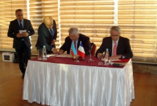 Shaki signs friendship and cooperation charter with French Colmar