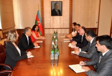 Azerbaijani FM meets chairman of Liechtenstein`s parliament