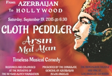 "Legendary Azerbaijani musical comedy film ""Arşın Mal Alan"" to premier in Hollywood"