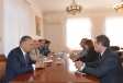 Azerbaijan`s Deputy Prime Minister meets ICRC Director for Europe and Central Asia