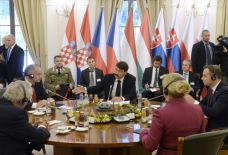 V4 countries, Croatia discuss refugees