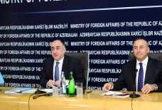 Azerbaijani and Turkish FM hold joint press conference