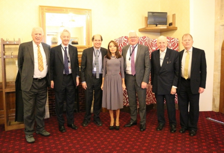 Seven members of House of Lords meet with Professor Nargiz Pashayeva