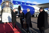 "President Ilham Aliyev arrived in UK for a visit   <span style=""color:#ff0000"">VIDEO</span>"