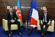 President Ilham Aliyev met with French President Francois Hollande VIDEO