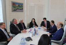 Azerbaijan`s Minister of Culture and Tourism meets British Parliamentarians
