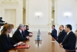 President Ilham Aliyev received co-rapporteurs of PACE Monitoring Committee VIDEO