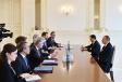 President Ilham Aliyev received delegation led by Director General at European Commission VIDEO