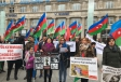 Azerbaijanis stage rally in Cologne to commemorate Khojaly genocide