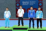 Mahir Amiraslanov`s gold at Baku 2017