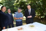 "President Ilham Aliyev visited Lalapasha villager`s hazelnut farm in Gakh   <span style=""color:#ff0000"">VIDEO</span>"