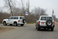 OSCE holds monitoring on Azerbaijan-Armenia state border