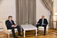 President Ilham Aliyev received Moldova's minister of internal affairs VIDEO