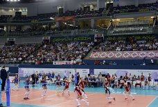 Azerbaijan storm to second straight-sets victory at women's EuroVolley