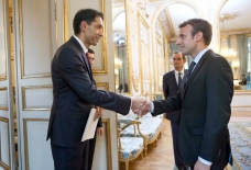 President Macron: France is interested in developing relations with Azerbaijan