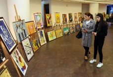 Art exhibition opened as part of International Jazz Festival in Baku