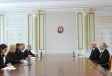 President Ilham Aliyev received delegation led by Finnish foreign trade and development minister VIDEO