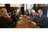 Azerbaijani, Armenian FMs discuss Nagorno-Karabakh conflict negotiation process in Brussels