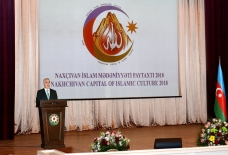 """Nakhchivan, the Capital of Islamic Culture-2018"" events solemnly open"