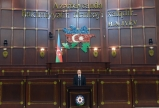 "Solemn meeting marking centenary of Azerbaijani parliament was held at Milli Majlis<BR> President Ilham Aliyev attended the meeting   <span style=""color:#ff0000"">VIDEO</span>"