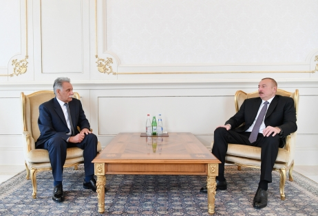 President Ilham Aliyev received credentials of incoming Afghan ambassador VIDEO