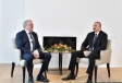 President Ilham Aliyev met with Equinor CEO in Davos VIDEO