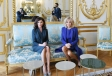 First Vice-President of Azerbaijan Mehriban Aliyeva met with French first lady Brigitte Macron