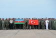 "Another group of Turkish servicemen arrives in Azerbaijan to participate in ""TurAz Qartalı-2019"" exercises"