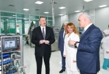 "President Ilham Aliyev attended opening of ""Diamed"" syringe plant in Pirallahi Industrial Park  <span style=""color:#ff0000"">VIDEO</span>"