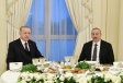 President Ilham Aliyev hosted reception in honor of Turkish President Recep Tayyip Erdogan  VIDEO