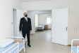President Ilham Aliyev attended opening of modular hospital in Ismayilli VIDEO