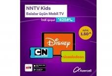 "®  Azercell introduces new ""Mobile TV"" service for kids"