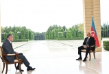 "President Ilham Aliyev was interviewed by TRT Haber TV channel  <span style=""color:#ff0000"">VIDEO</span>"