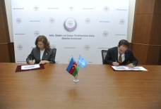 Azerbaijan`s State Committee for Family, Women and Children Affairs and UNICEF sign Action Plan for 2021-2022