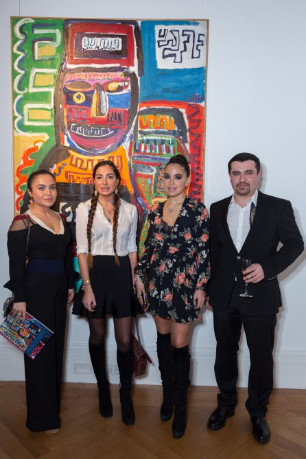 Azerbaijani painter`s exhibition opens in London