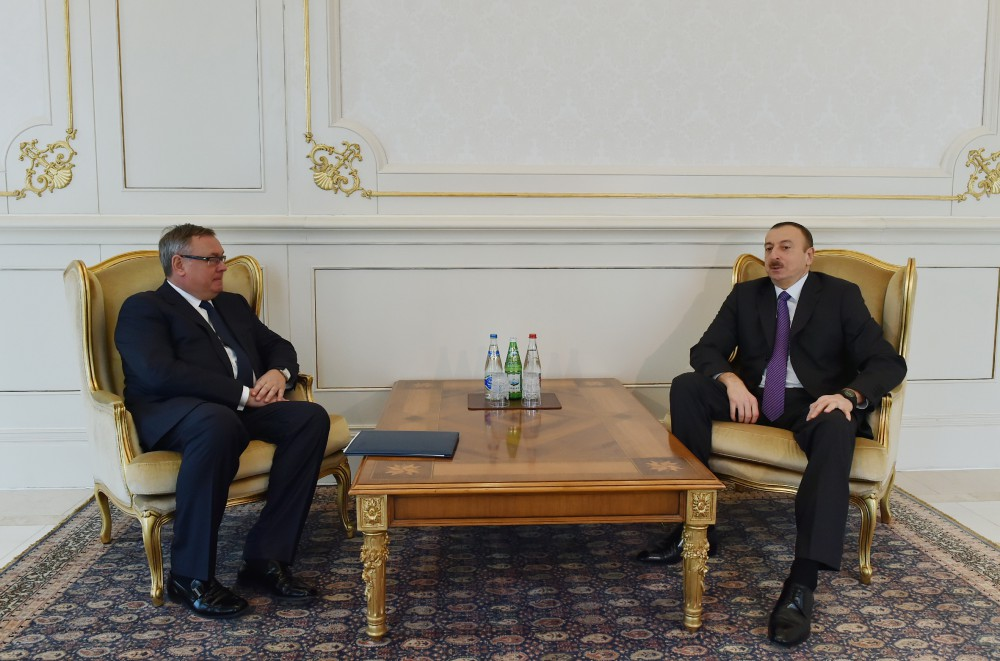 President Ilham Aliyev received the President and Chairman of the Management Board of VTB Bank VIDEO