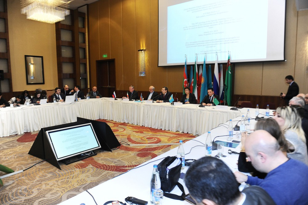 Current round of talks on Caspian Sea legal status can be assessed as beginning of final round