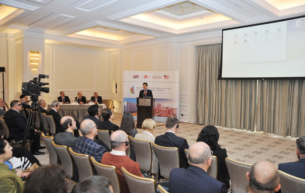 International oncology conference opens in Baku VIDEO