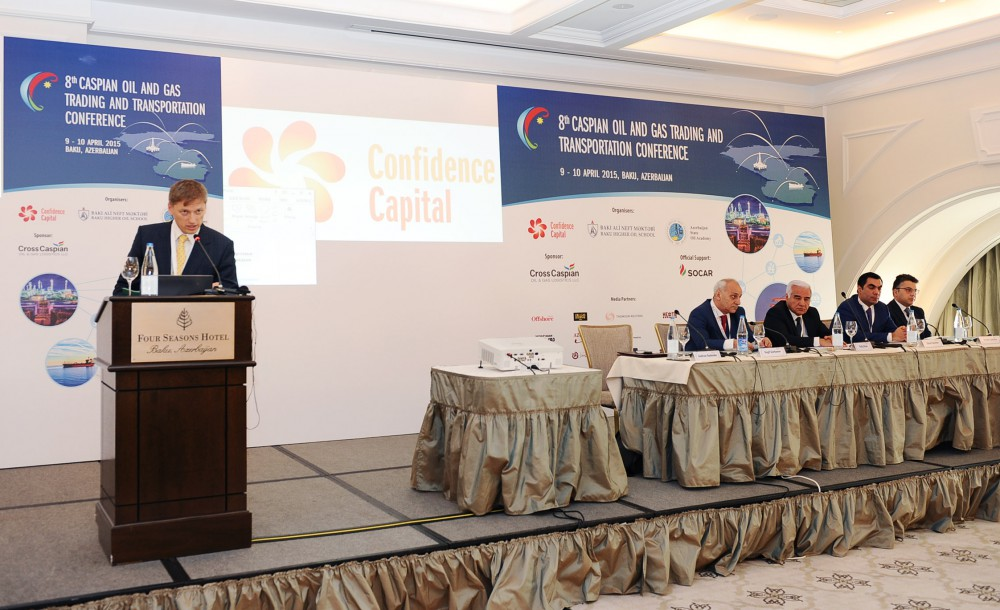 8th Caspian oil and gas trading and transportation conference kicks off in Baku VIDEO