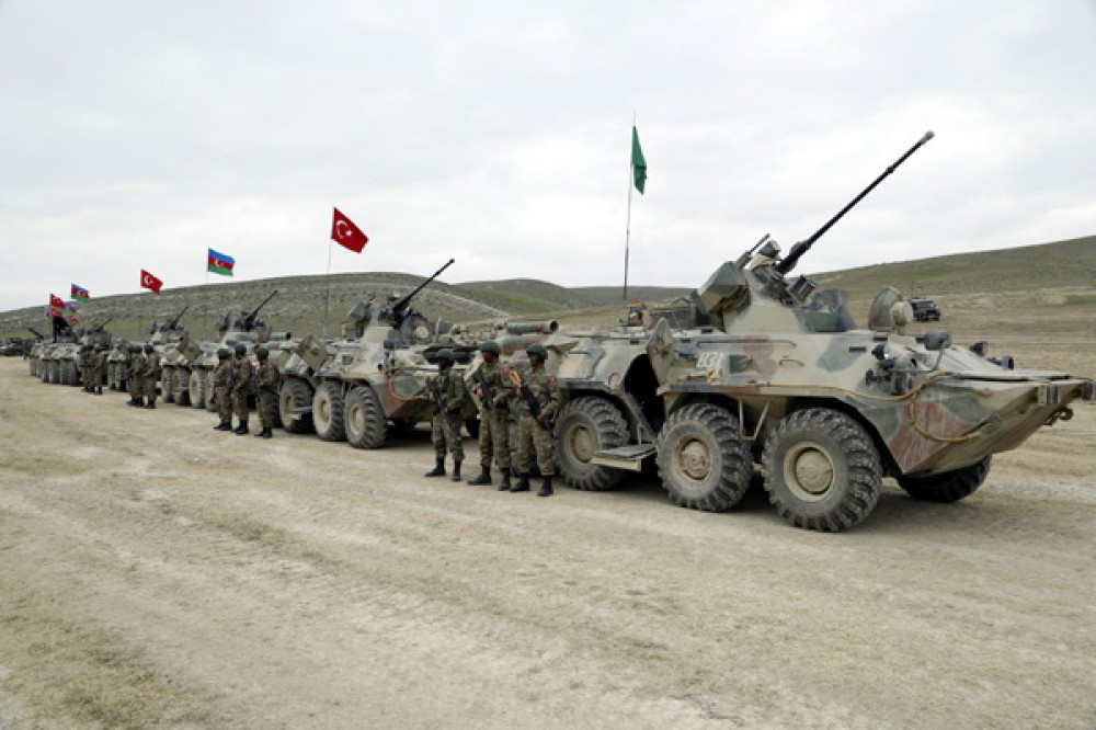 Azerbaijan, Turkey hold joint tactical exercises VIDEO