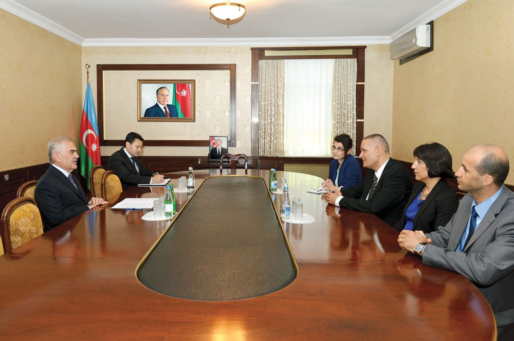 Israeli Ambassador meets Chairman of the Supreme Assembly of Nakhchivan